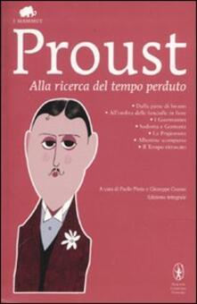 Alla ricerca del tempo perduto - Marcel Proust - copertina