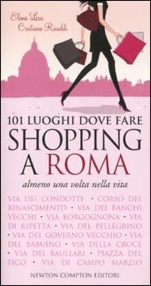 Camfeed.it 101 luoghi dove fare shopping a Roma almeno una volta nella vita Image