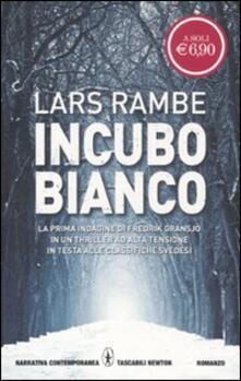 Incubo bianco - Lars Rambe - copertina