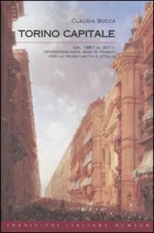 Torino capitale - Claudia Bocca - copertina