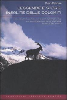 Leggende e storie insolite delle Dolomiti - Dino Dibona - copertina