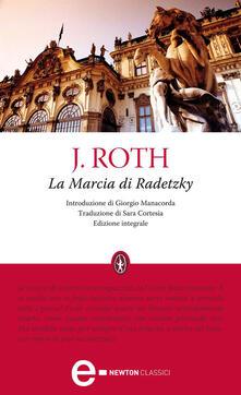 La marcia di Radetzky. Ediz. integrale - Joseph Roth,S. Cortesia - ebook