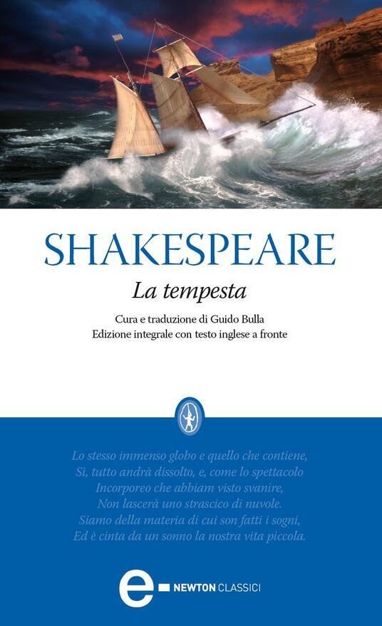 La tempesta. Testo inglese a fronte. Ediz. integrale - Guido Bulla,William Shakespeare - ebook