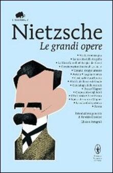 Le grandi opere - Friedrich Nietzsche - copertina