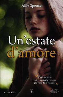 Un' estate d'amore - Allie Spencer - copertina