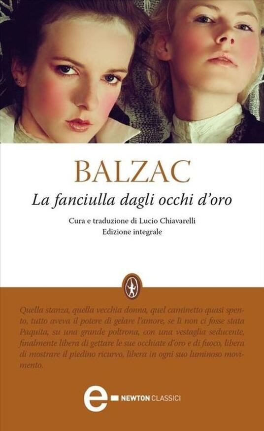 La fanciulla dagli occhi d'oro. Ediz. integrale - Lucio Chiavarelli,Honoré de Balzac - ebook