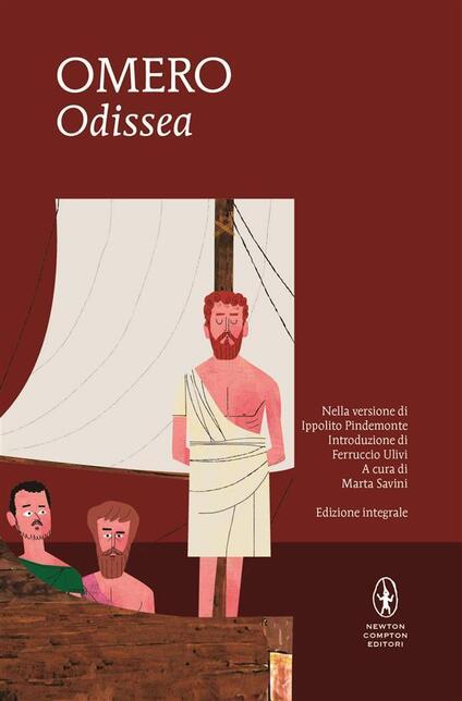 Odissea. Ediz. integrale - Omero,Marta Savini,I. Pindemonte - ebook