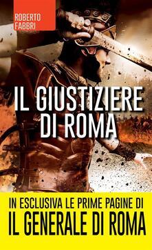 Il giustiziere di Roma - Roberto Fabbri,G. Cara - ebook
