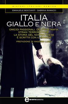Italia giallo e nera - Emanuele Boccianti,Sabrina Ramacci - ebook