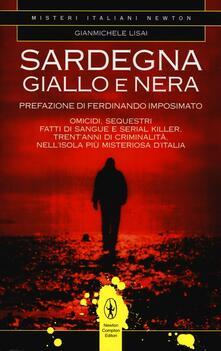 Sardegna giallo e nera - Gianmichele Lisai - copertina