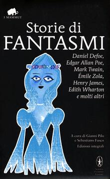 Storie di fantasmi. Ediz. integrale - copertina
