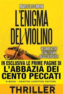 L' enigma del violino - Marcello Simoni - ebook