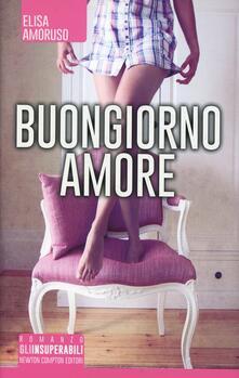 Buongiorno amore - Elisa Amoruso - copertina