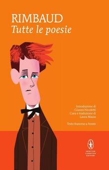 Tutte le poesie. Testo francese a fronte - Arthur Rimbaud - copertina
