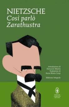 Così parlò Zarathustra. Ediz. integrale - Friedrich Nietzsche - copertina