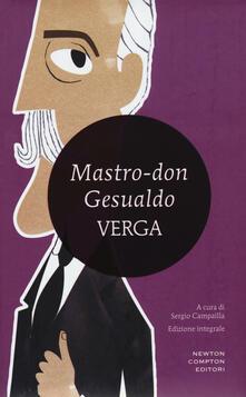 Mastro Don Gesualdo. Ediz. integrale - Giovanni Verga - copertina