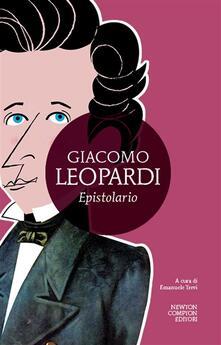 Epistolario - Giacomo Leopardi,Emanuele Trevi - ebook