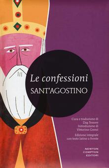 Le confessioni. Testo latino a fronte. Ediz. integrale - Agostino (sant') - copertina