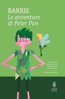 Le avventure di Peter Pan. Ediz. integrale - James Matthew Barrie - copertina