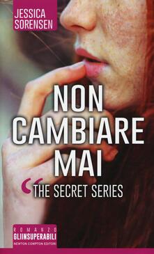 Nicocaradonna.it Non cambiare mai. The Secret Series Image