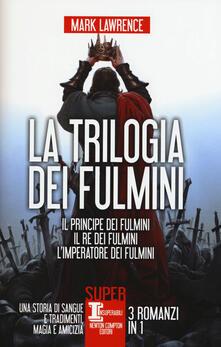 Premioquesti.it La trilogia dei fulmini: Il principe dei fulmini-Il re dei fulmini-L'imperatore dei fulmini Image