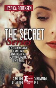 Amatigota.it The Secret Series: Non lasciarmi andare-Tienimi con te-Non cambiare mai-Per sempre insieme-Infinito amore Image
