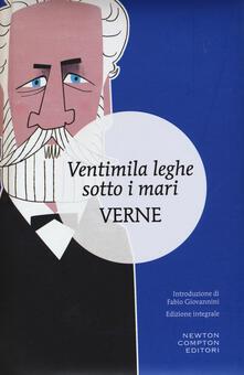 Ventimila leghe sotto i mari. Ediz. integrale - Jules Verne - copertina