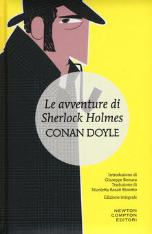 Le avventure di Sherlock Holmes. Ediz. integrale - Arthur Conan Doyle - copertina