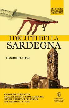 I delitti della Sardegna - Gianmichele Lisai - copertina