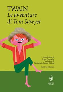 Le avventure di Tom Sawyer. Ediz. integrale - Mark Twain - copertina