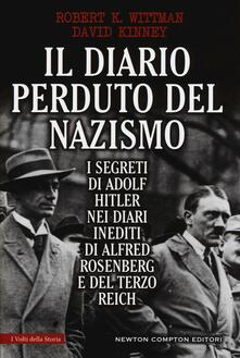 Radiospeed.it Il diario perduto del nazismo. I segreti di Adolf Hitler nei diari inediti di Alfred Rosenberg e del Terzo Reich Image