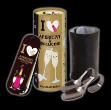 I love aperitivi & bollicine. Con gadget - copertina