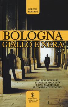 Bologna giallo e nera - Serena Bersani - copertina