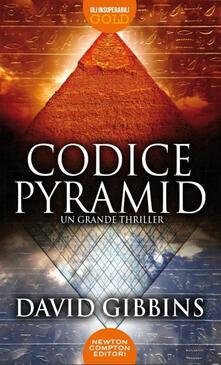 Codice pyramid - David Gibbins - copertina