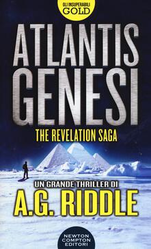 Atlantis Genesi. The revelation saga - A. G. Riddle - copertina