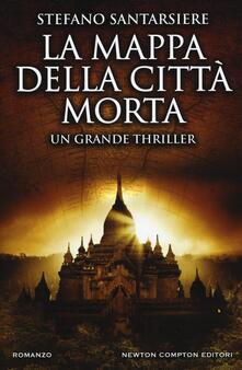 La mappa della città morta - Stefano Santarsiere - copertina