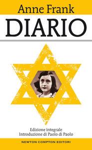Diario. Ediz. integrale - Anne Frank - copertina