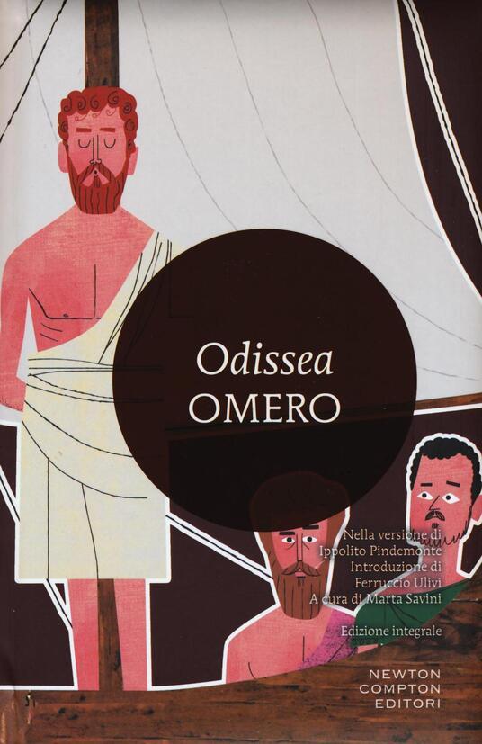 Odissea. Ediz. integrale - Omero - copertina