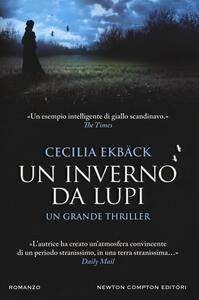 Un inverno da lupi - Cecilia Ekbäck - copertina