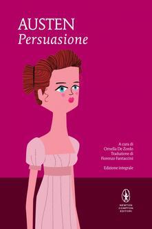 Persuasione. Ediz. integrale - Jane Austen - copertina