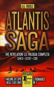 Atlantis Saga. The revelation. La trilogia completa: Genesi-Secret-Code - A. G. Riddle - copertina