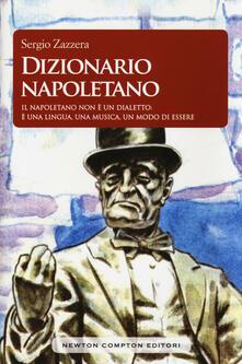 Dizionario napoletano - Sergio Zazzera - copertina