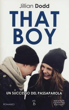 That boy - Jillian Dodd - copertina