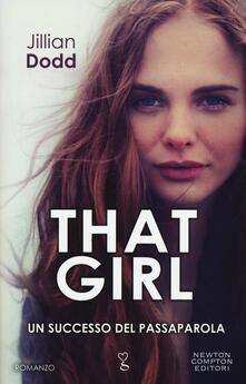 That girl - Jillian Dodd - copertina