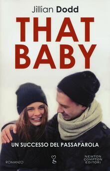 That baby - Jillian Dodd - copertina
