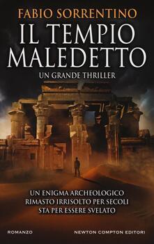 Il tempio maledetto - Fabio Sorrentino - copertina