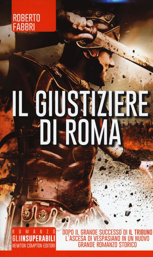 Il giustiziere di Roma - Roberto Fabbri - copertina