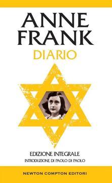 Diario. Ediz. integrale - Anne Frank,Martina Rinaldi,David Sacerdoti - ebook