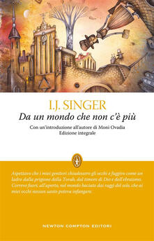 Da un mondo che non c'è più. Ediz. integrale - Israel J. Singer,Bianca Francese,David Sacerdoti - ebook