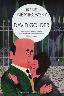 David Golder. Ediz. integrale - Irène Némirovsky - copertina